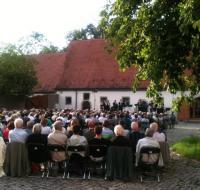 Konzert im Schlosshof Erkenbrechtshausen 2013, Foto: M. Meyer