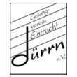 Logo Gesangverein Eintracht Dürrn 1876 e.V.