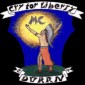 "Logo Motorrad-Club ""Cry for Liberty"" Dürrn 1991 e.V."
