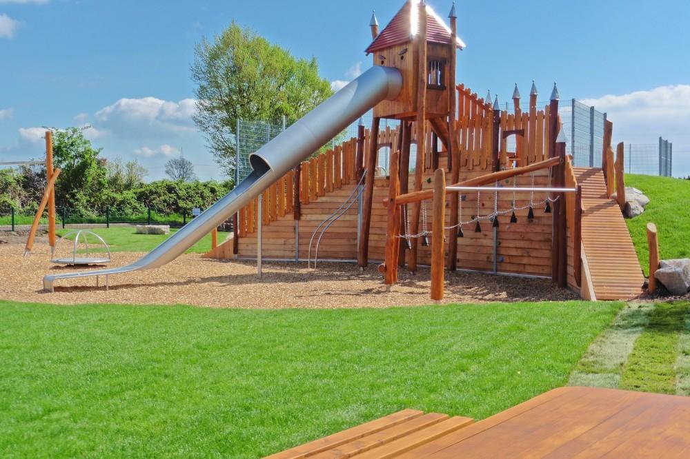 Der Abenteuerspielplatz in der Wörschgasse hat rund 160.000 Euro gekostet